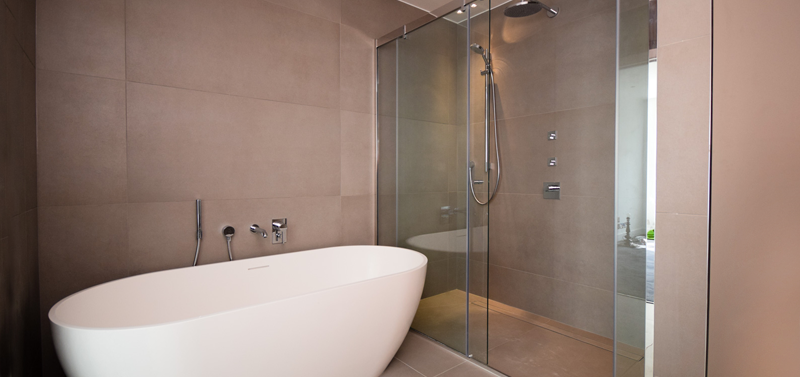 Wet room installation London Islington